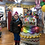 Thumbnail: 4.5 foot tall Balloon Tower birthday cake Happy birthday
