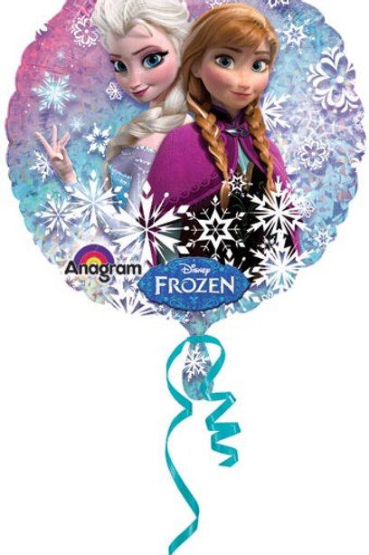 "DISNEY FROZEN ELSA & ANNA (HOLO) 18"" balloon"