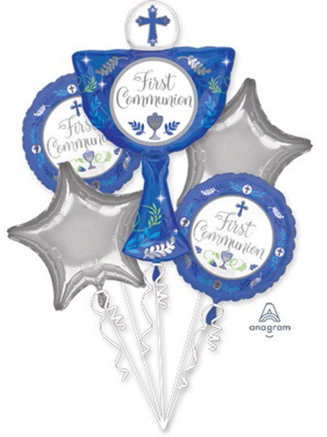BOUQUET FIRST COMMUNION DAY BLUE