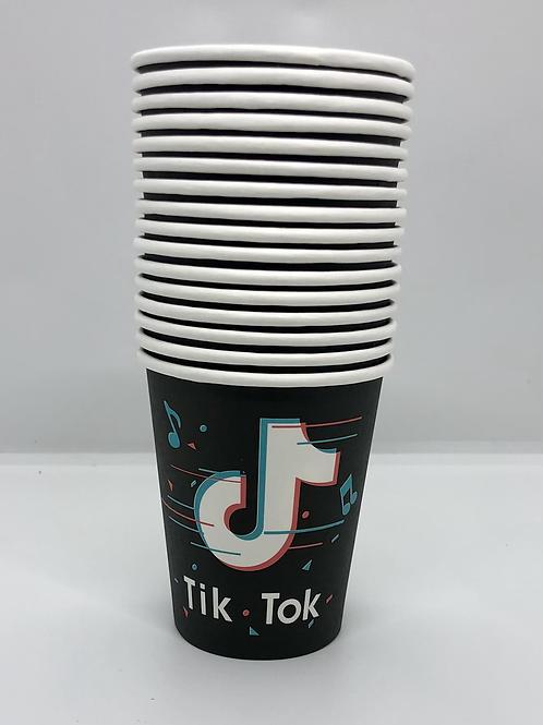 16 Tik Tok paper cups