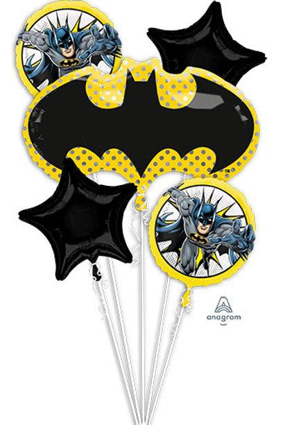 Bouquet Batman foil  set justice league superhero balloons