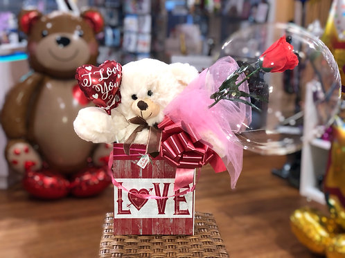 I love u Valentine super soft  plush bear