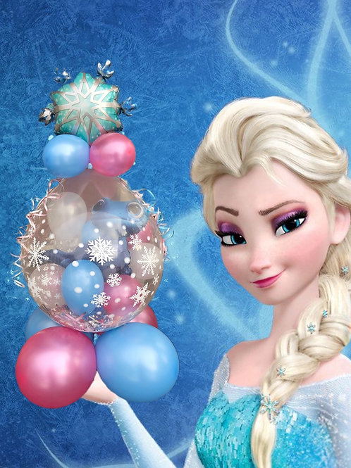Frozen stuffed balloon