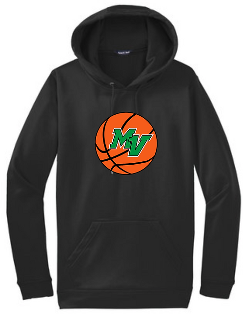 Personalized Embroidered Adult & Youth Performance Hoodie