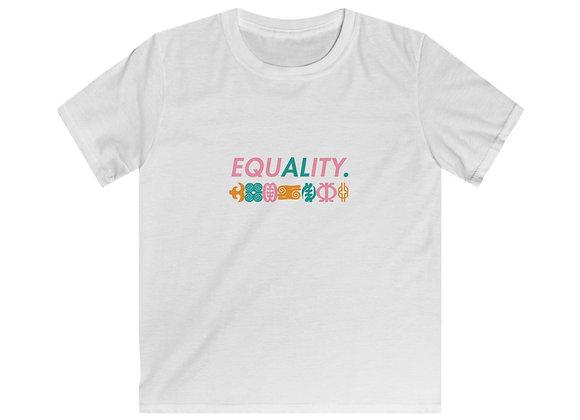 Equality Kids Softstyle Tee