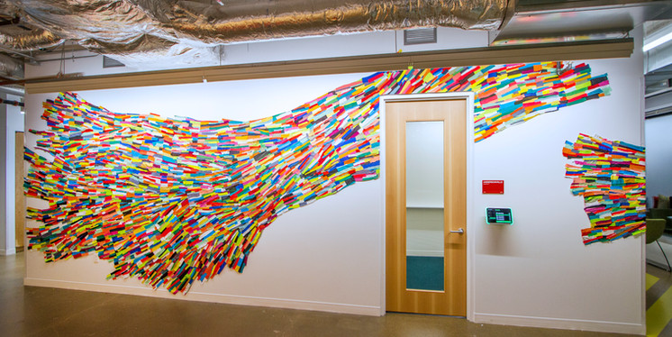 Rainbowedbend, 2018, Facebook Corporate Offices, Chicago, IL
