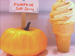 Pumpkin Soft Serve coming soon!
