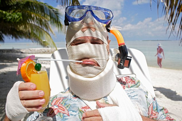 people hate being ill on holiday