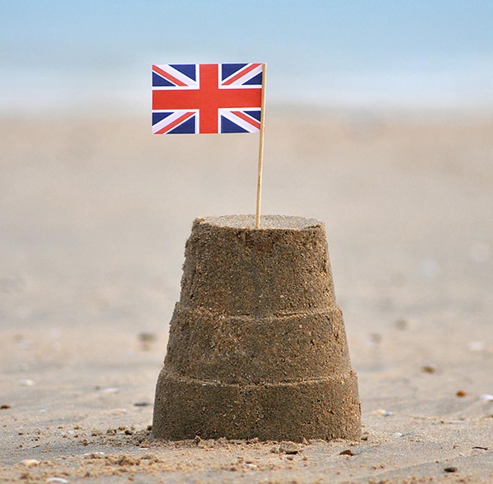 British Sandcastle