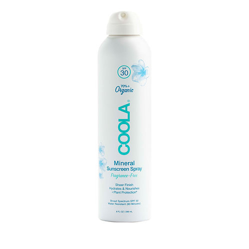 Coola SPF 30 Mineral Body Spray Unscented