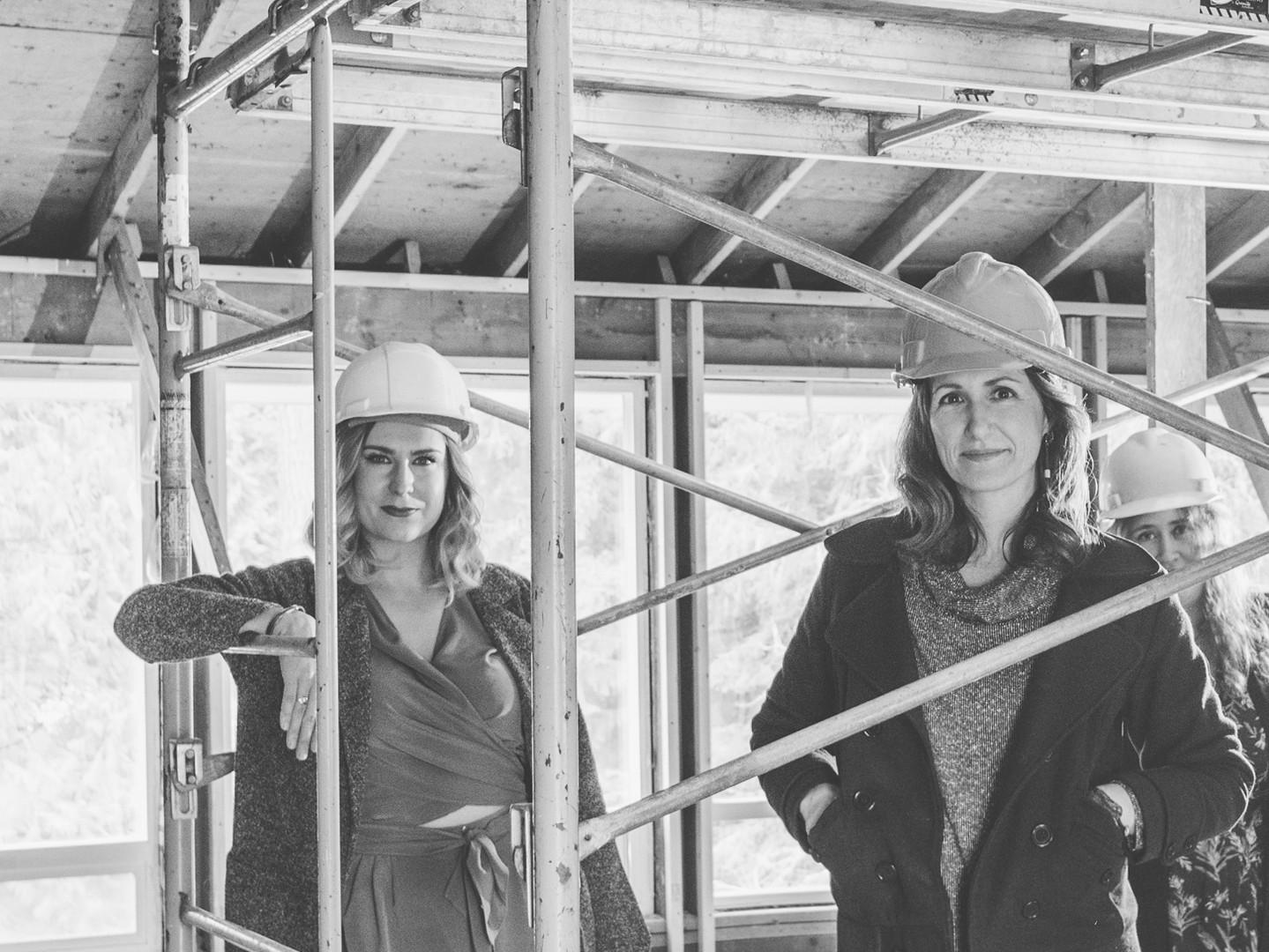 Principal Architects Tessa Smith & Roussa Cassel