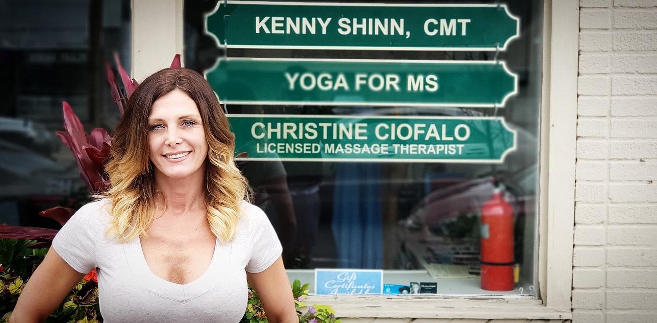 Massage Therapist Christine Cifalo