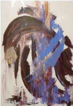 Exposition de peinture, Véronique Chapon, Epudf, Orléans