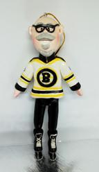 Custom hockey fan ornament