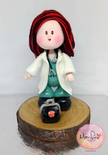 custom handmade doctor figure