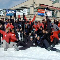 חברי משלחת פצועי צה''ל באתר הסקי.JPG