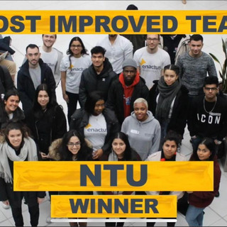 NTU announced as most impoved team at Nationals 2020