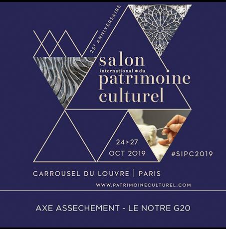 salon du patrimoine culturel 2019 Paris.