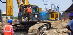 Rotatory Piling Rig