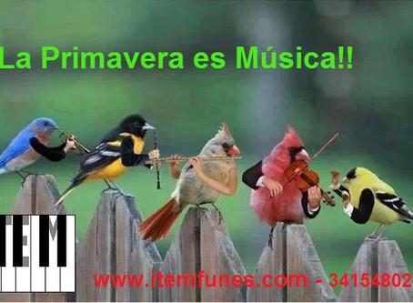 La Música y la Primavera