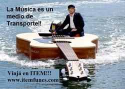 Facebook - La Música es un medio de transporte!!  Cuando una persona viaja, lo