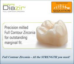 Diazir Full Contour Zirconia - All t