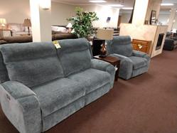 Power Headrest / Power Recline Sofa