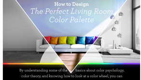 How to Design the Perfect Living Room Color Palette