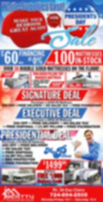 Beatty President's Day Mattress Sale
