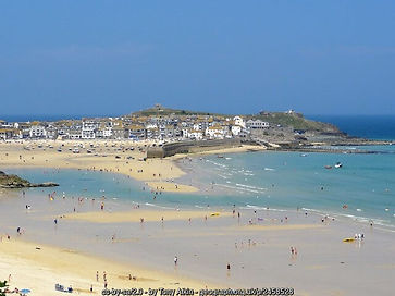 St Ives, Corwall- birthplace of Rosamunde Pilcher