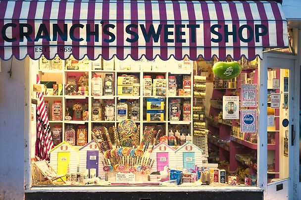 traditional sweet shop Totnes