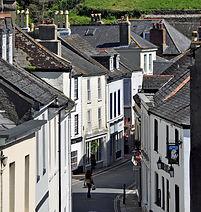 winding streets Totnes