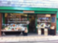 one of Totnes' many independent shops