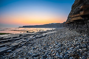 Rock formations on Jurassic Coast