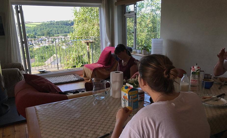 English in Totnes Homestay host
