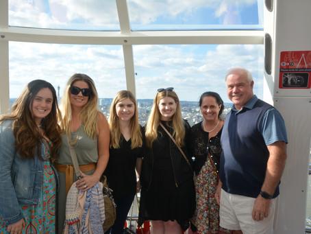 Family weekend in London