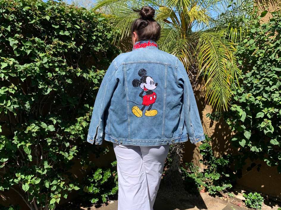 Floral Mickey