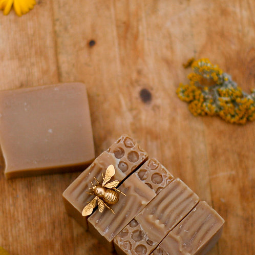 honey | oats | unscented handmade soap