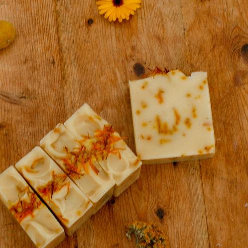 calendula | unscented handmade soap
