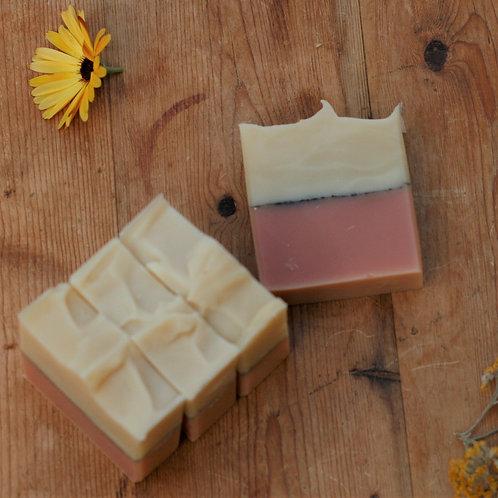 geranium | rosemary | mint handmade soap