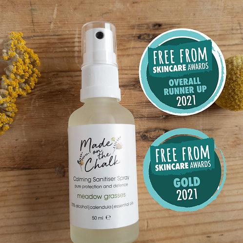 meadow grasses | calming sanitiser spray