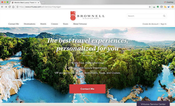 Introducing the Virtuoso Online Hotel Booking Tool