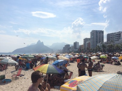 Carnival in Rio de Janiero