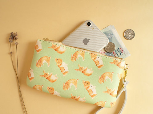 Toffee Rabbit Zip Purse