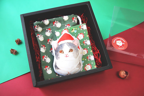 Christmas Cat Gift Set