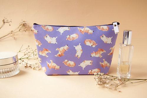 Kelly Shiba Inu Cosmetic Bag