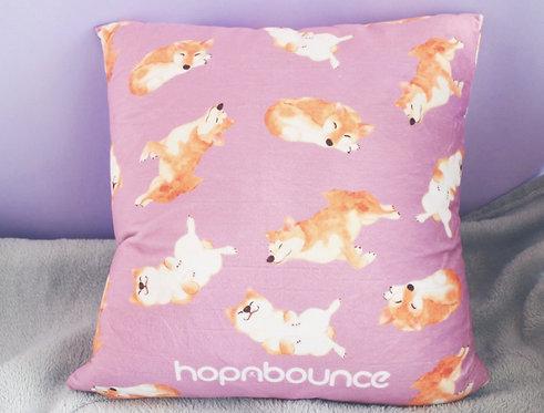 Kelly Shiba Inu Cushion Cover Throw Pillow