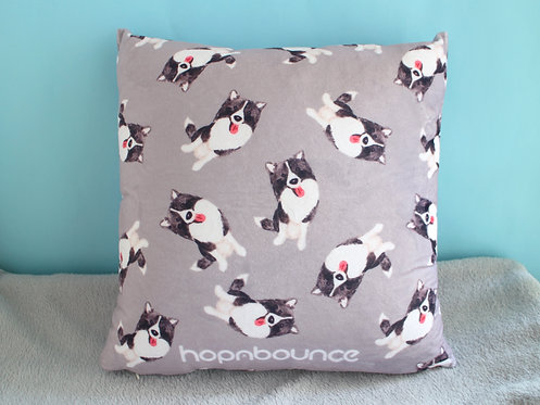 Momo Border Collie Cushion Cover Throw Pillow