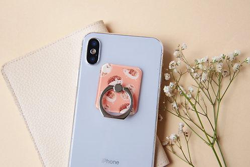 Hedgehog Phone Ring Holder