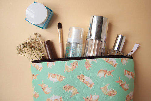 Toffee Rabbit Cosmetic Bag
